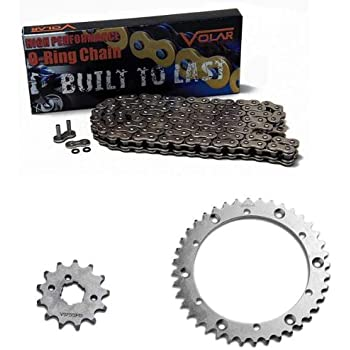 Yamaha Warrior 350 1989-2004 Primary Drive ATV Oring Chain and Sprockets Kit