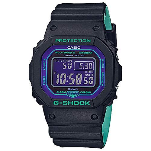 Casio G-Shock GWB5600BL-1 Black Teal Digital Resin Watch