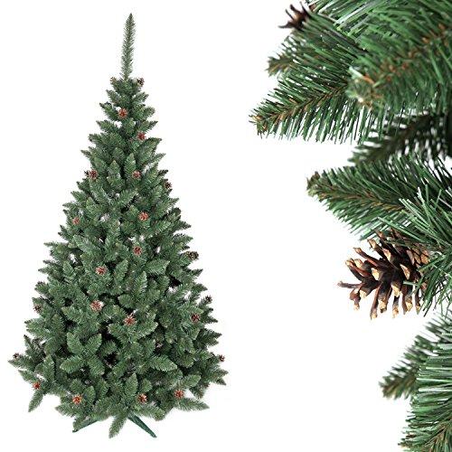 HOME 4U Albero di Natale Artificiale Albero di Natale Artificiale Abete Premium 160 cm