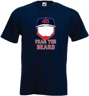 PROSPECT SHIRTS Navy Boston Kimbrel Fear The Beard T-Shirt