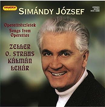 József Simándy: Operettrészletek