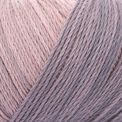 ggh Calypso, Farbe:002 - Rosenholz-Grau, 100% Baumwolle, 50g Wolle als Knäuel, Lauflänge ca.185m, Verbrauch 500g, Nadelstärke 2,5-3,5, Wolle zum Stricken und Häkeln