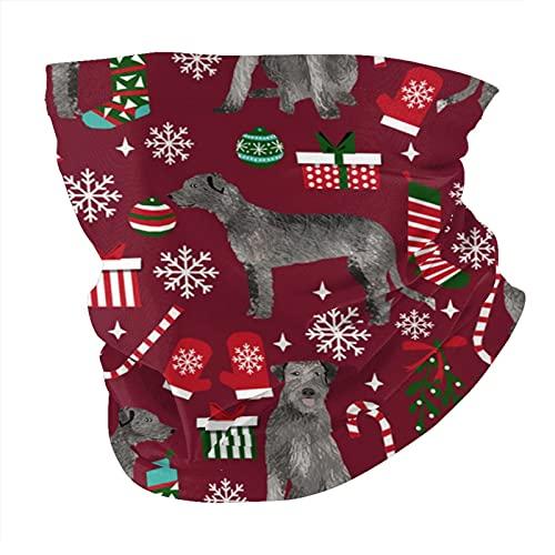 Shanke Bufanda de cabeza de lobo irlandés, personalización personalizada al aire libre diadema bufanda deporte Headwear púrpura