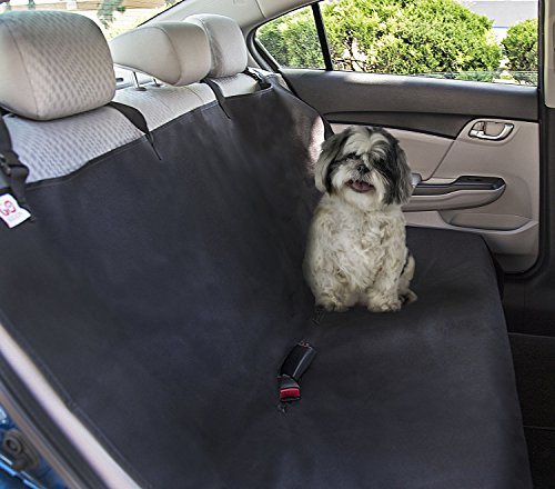 Go Buddy Waterproof Dog Car Seat Cover for Trucks, SUV, Family Van, Sedan