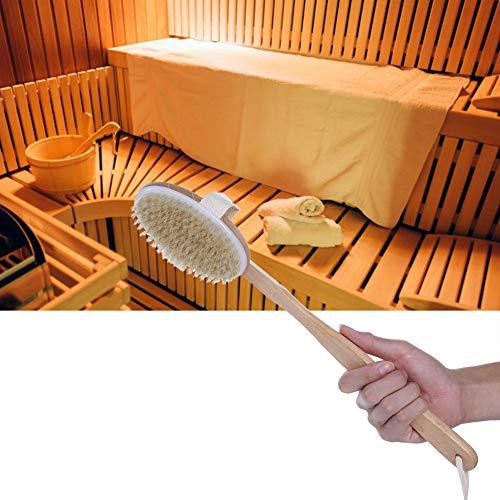 Omabeta Leicht zu reinigen mit langem Griff Langlebig mit Einer praktischen Schlaufe zum Aufhängen der natürlichen Brus-Boost-Durchblutung für das Bad