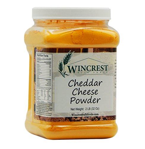 Gourmet Cheddar Cheese Powder - 2 Lb Size Tub