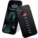 Anime Case for iPhone 11 Leather Phone case for iPhone 11 Lambskin Cover Anti-Resistance Shatter-Resistance and Scratch-Resistance Functions Compatible with iPhone 11 6.1″