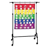 Learning Resources Adjustable Chart Stand, 35'W x 50'H and adjusts up to 74'W x 80'H