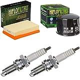 pamoto - Filtro dell'aria, filtro dell'olio, candele di accensione R 1200 GS LC ABS 2013-2017, kit di manutenzione