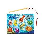 Melissa & Doug- Fishing Magnetic Juego Puzzle, Multicolor (Melissa&Doug 13778)