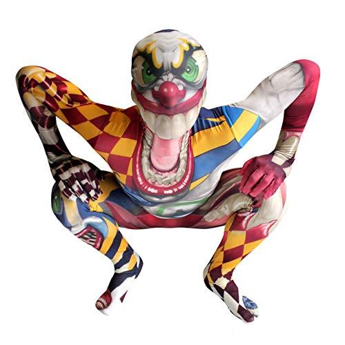 Morphsuits - Enfants Monstre - Clown Pour Hauteur 100-120 Cm - Taille S