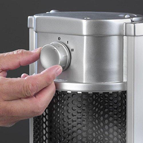 Eurom Table Heater 33.358.9 Tischheizung 900 Watt Tischheizstrahler Terrassenstrahler Heizgerät Heizgerät - 5