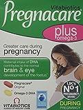 2 Packs Vitabiotics Pregnacare Plus Omega 3 - 56 Tablets = TOTAL 112 Tablets/Capsules by Vitabiotics