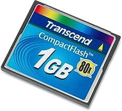 1GB Transcend 80x CompactFlash Card