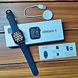 T500+ (Plus) Series 6 Full Display Metal Smartwatch with Mini...