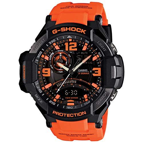 Casio G-Shock GA-1000 Gravity Defier - Black Orange (GA-1000-4ADR)