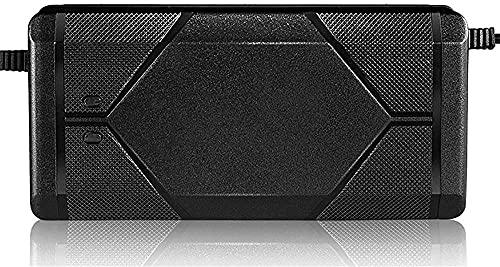 LONGJIQ Adaptador de batería de Litio con Cargador de Litio de 46 2V 3A Cartel de batería de Litio Inteligente para equilibrar el monopatín de unicocicle-C Fantastic