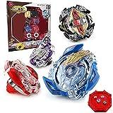 OBEST Conjuntos de Metal de Peonzas Spinning Fusión 4D 4 Box Gyro Lucha Maestro Cadena...
