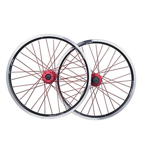 CHICTI Juego Ruedas Bicicleta BMX 20