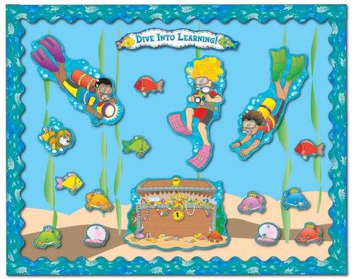 Carson Dellosa Dive Into Learning Bulletin Board Set (3459)