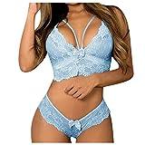 Lencería sexy de encaje erótico para las mujeres más tamaño ropa interior mujer sensual sujetador sin marco conjunto de ropa interior