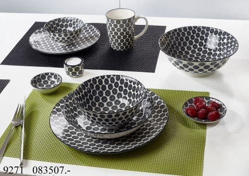 Flirt by R&B Geschirr-Serie Takeo Circles Material Kaffeebecher 350 ml Takeo Circles