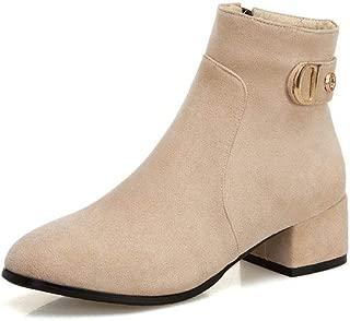 BalaMasa Womens ABS14115 Pu Boots