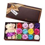 CMOM Valentinstag Rose Love Neu Valentinstag Bär Geschenkbox Geschenk Rose Geschenk Kleines...