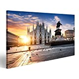 islandburner Bild Bilder auf Leinwand Mailand Italien