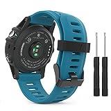 MoKo Bracelet de Remplacement Flexible en Silicone avec des Outils pour Garmin Fenix...