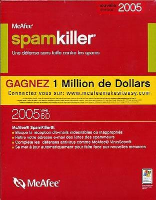 Mcafee spamkiller home 6.0