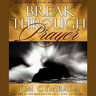 Breakthrough Prayer audiobook cover art