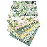 8 unids 40 cm* 50 cm 100% tela de algodón para acolchar patchwork cojines almohadas material de costura Scrapbook muñeca paño