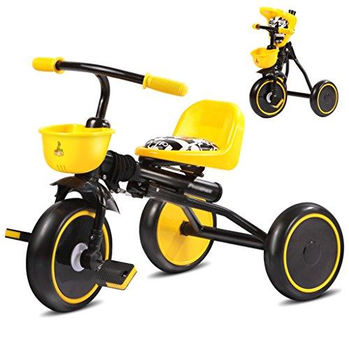 Landau Tricycle Léger Portable Haut De Gamme pour Promenade Tout-Terrain, Pliage Parfait, Convient Au Tricycle 4-en-1 (Couleur : A)