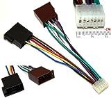 AERZETIX - Adaptateur E5 ISO convertisseur fiche câble Faisceau autoradio pour Kenwood - C2058