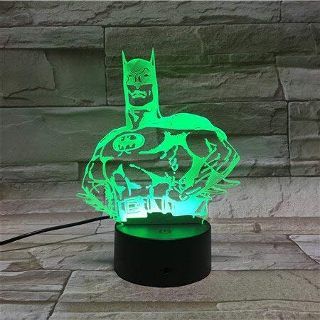 Interesting and Creative Color-Changing Three-Dimensional 3D Table lamp Lava Halloween Color-Changing LED Night Light Mood Decoration Gift Bedroom | Bedside Table Light dimmable