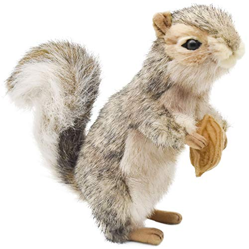 Hansa Squirrel Plush, 8', Gray