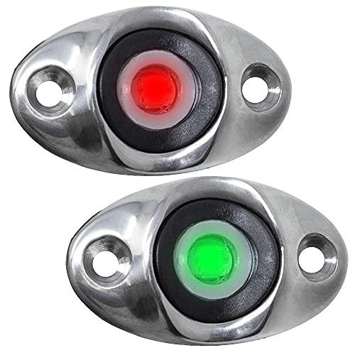 TACO Surface Mount LED Side Navigation Light Set - 1-3/4