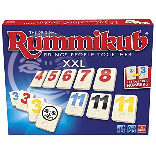 Rummikub-En Español XXL-Fichas Extra Grandes (Goliath 50458