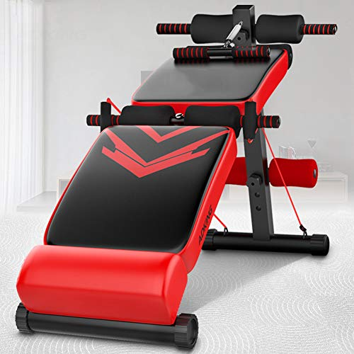 Product Image 1: Utility Core Abdominal Trainers With Headrest,Multifunctional Portable Weight Bench For Full Body,Foldable Adjustable Ab Bench A