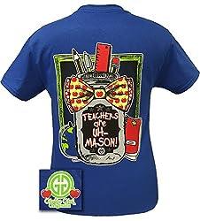 Girlie Girls Teachers are Uh-Mason Short Sleeve T-Shirt