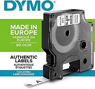 Dymo D1 Standard Self-Adhesive Labels for LabelManager Printers, 9 mm x 7 m (B0006B2ROK) | Amazon price tracker / tracking, Amazon price history charts, Amazon price watches, Amazon price drop alerts