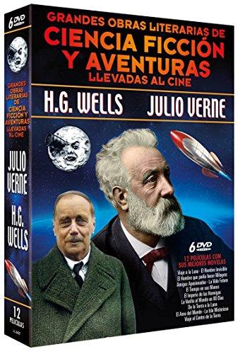 Grandes Obras Literarias de Ciencia Ficción y Aventuras Llevadas [DVD]