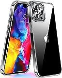 CASEKOO Crystal Clear für iPhone 12 Hülle/iPhone 12 Pro Hülle (Keine Vergilbungen) (Falltest gemäß MLT-STD) Stoßfest Transparent Hülle Slim Dünn Handyhülle 6,1 Zoll 5G 2020, Durchsichtig