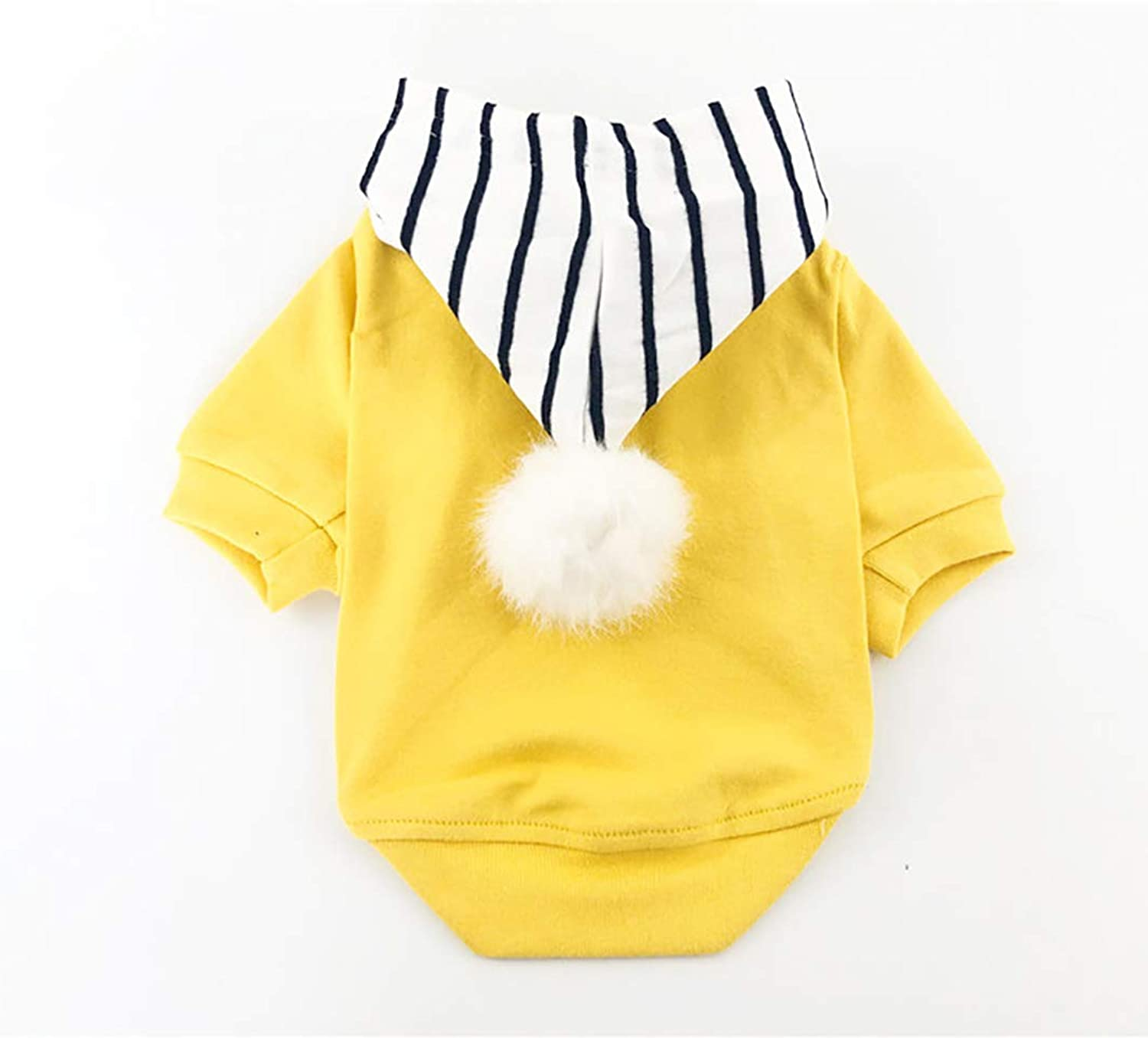 Shangyuan Pet Striped TShirt Cotton Material Comfortable and Warm Wear and Tear Resistance Easy to Clean Pet TwoLegged Costume