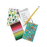 Fun Express Fiesta Notepads (1 Dozen) Stationery, Party Favors, Classroom Supplies, Cinco De Mayo Party Ideas