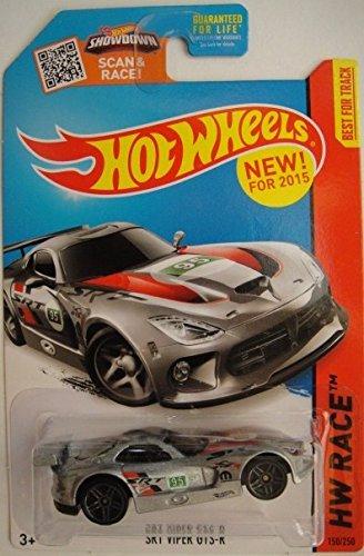 Hot Wheels 2015 HW Race SRT Viper GTS-R 150/250, Silver