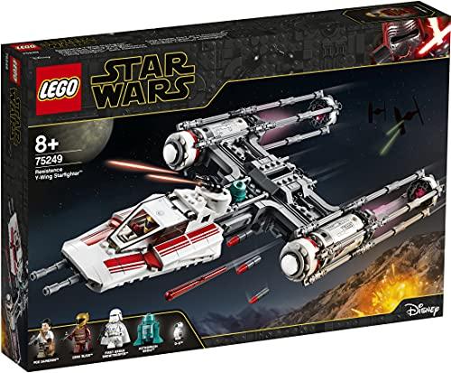 LEGOStarWarsY-WingStarfighterdellaResistenza,SetdaCostruzionedell'AstronavedaBattaglia,CollezioneL'AscesadiSkywalker,75249