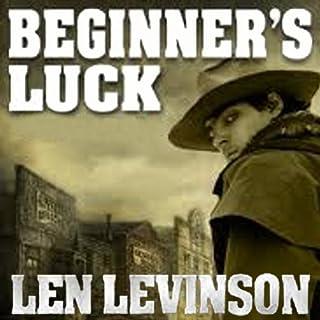 Beginner's Luck audiobook cover art