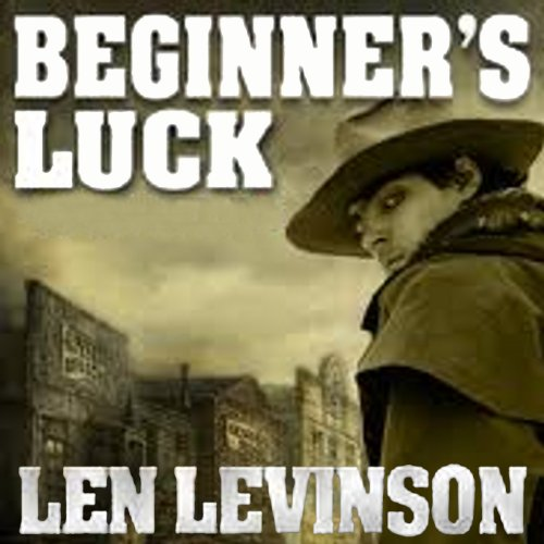 Beginner's Luck audiobook cover art
